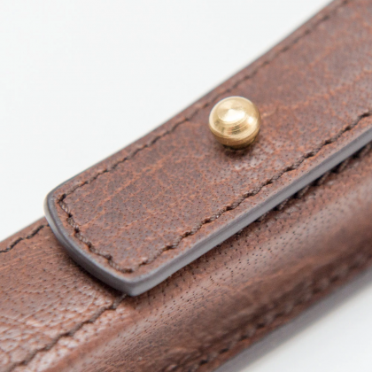 Captain Fawcett Handcrafted Leather Razor Pouch Case