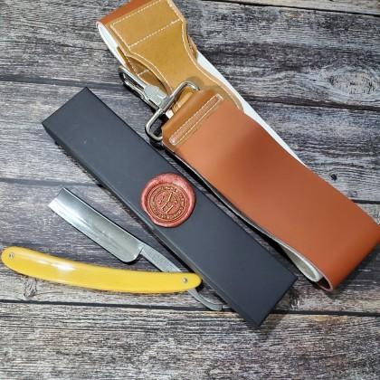 Vintage Straight Razor CAPE 1372 Swedish Steel Made in Japan
